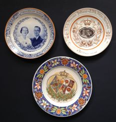 Three Plates Marriage Juliana-Bernhard
