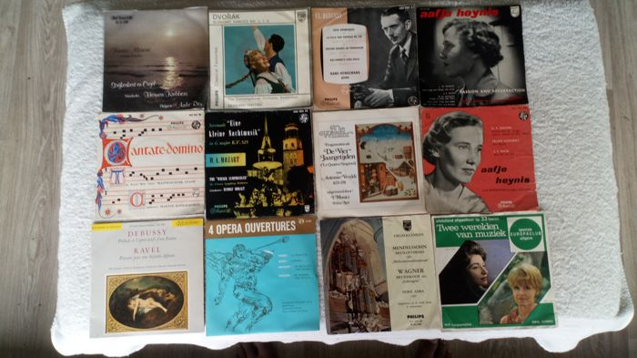 """A extremely rare lot on offer! 20, 7""""singles, with classic Music 16 are on the normal 45rpm but 4 are on33rpm! Some are on very rare and/or early lable."""
