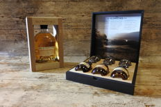 Glenrothes Giftbox with 3 bottles and tasting glasses in luxury giftbox + Glenrothes Alba Reserve in showbox