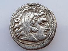 Ancient Greece - AR drachma of Alexander the Great (336–323), Sardes, circa 322–318 BC?