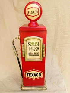 Texaco - Retro gasoline pump locker - Height 70 cm.