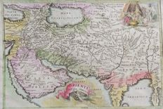 Middle East, Arabia, Iran, India etc; Polibio / Dionigi Ramanzini - Oriente Persia India - 1741
