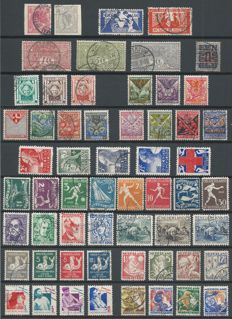 Netherlands 1923/1942 - Selection between NVPH 82 and 403B