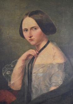 North European school (early 19th century) A portrait of a lady.
