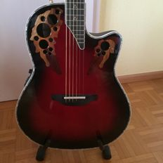 OVATION CUSTOM ELITE LX Mod. No. C778LX/ Series Modell No. C778 LX Series including padded guitar case with carrying strap