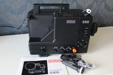Eumig S905 8 mm film projector in original box with manual and original microphone