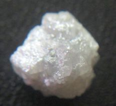 Natural Real Raw Uncut Snow White Rough Diamond Unheated / Untreated - 11.93 x 11.17 x 7.75 mm - 11.47 TCW