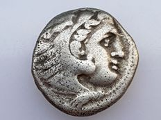 Ancient Greece - AR drachma of Alexander the Great (336–323), Colophon, ca. 310–301.