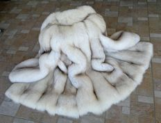 Greenland fox fur coat