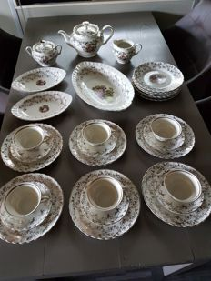 Perfect romantic breakfast tableware set by MOSA, Maastricht
