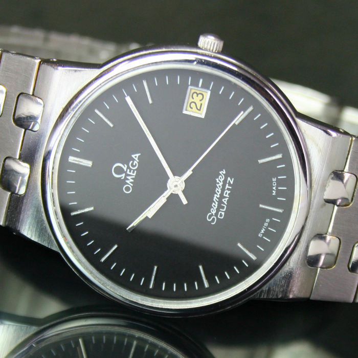 Omega Seamaster Quartz Date Steel Mens Watch Catawiki