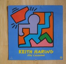 Keith Haring - 1996 Calendar - teNeues New York / Kempen, 1996
