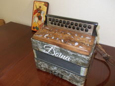 "Diatonic accordion ""DOINA"" C-F tones"