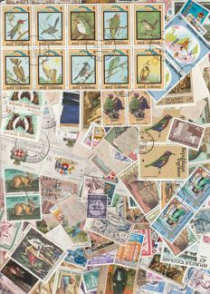World - lot of more than 21,000 stamps