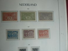 Nederland 1899/1939 - Collectie in Leuchtturm album