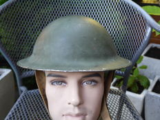 Very fine Canadian helmet 1942.