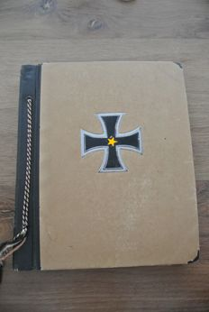 Third Reich; Photo album 105 original photos and photos from 1939-1944, WW2.