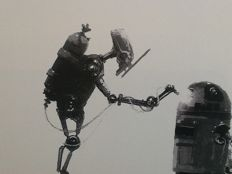Star Wars pre production artwork A4