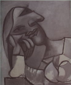 Picasso (after) - Cubiste Woman