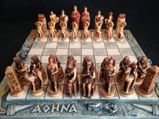Chess: Rome against the Egyptians - all craft made