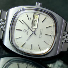 Omega Seamaster Automatic Day Date Steel Mens Watch