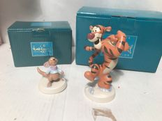 Disney - 2 Statuettes -  WDCC - Tigger and Roo (2003)