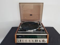 Vintage Sony HP-211A (HP211A) amplifier with tuner and record player including manual