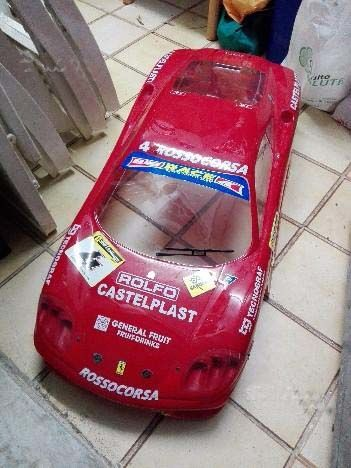 Ferrari 360 Challenge 360 Scale 1:5 with internal combustion engine + radio control