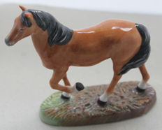 "Franklin Mint 1987 - horse sculpture porcelain - ""English"" - hand painted"