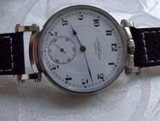 09. Girard-Perregaux men's marriage wristwatch ca 1920