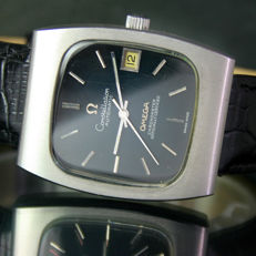 Omega Constellation Original Spider Web Dial Automatic Date Steel Mens Watch