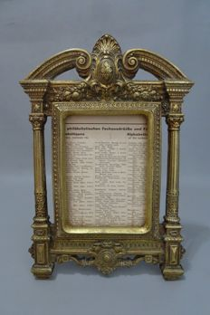 Bronze picture frame - 1st quarter 20th century