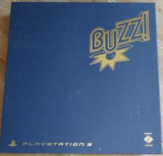 Buzz Quiz TV Special Edition + 4 Wireless Buzzers PS3-complete in box