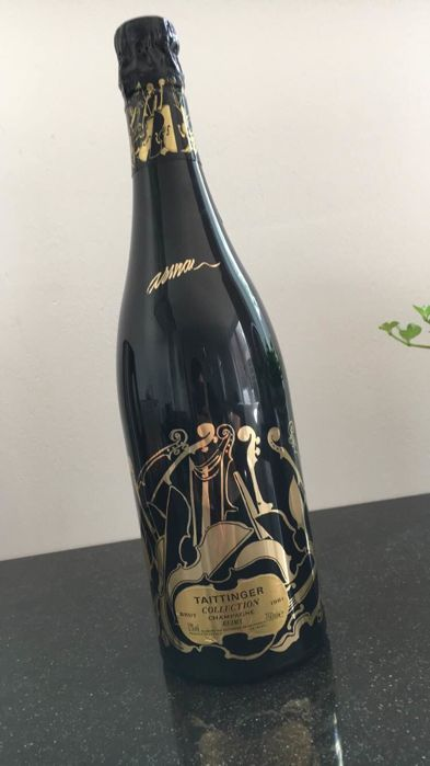 1981 Taittinger Collection Arman, Champagne - 1 bottle (75cl)
