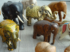 Collection of elephants from all over the world (24)