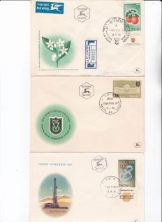 Israel - Collection of First Day Covers