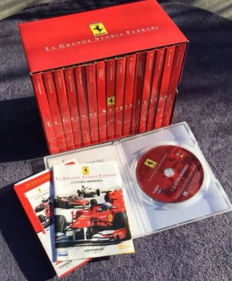 Lot of 15 Ferrari DVDs in Italian - La Grande Storia Ferrari