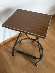 Fura - industrial design - swivel-iron table, c.1962