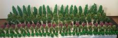 Scenery N - Package with 210 trees and model build trees