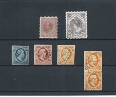 The Netherlands 1852/1899 - Selection of classic with, pair NVPH 3, among others