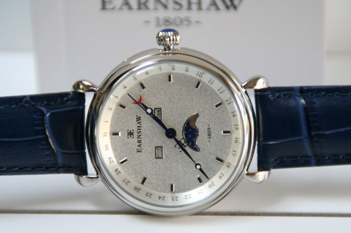 Thomas Earnshaw - Grand Calendar - Stainless steel Men's New Old Stock Multifunctional