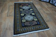 Hand-knotted original Persian carpet, oriental Ardebil, approx. 140 x 80 cm, good condition, Iran