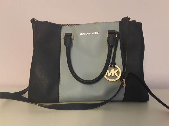 59cabc96b460 cheap michael kors sutton center stripe satchel ae98c f890e