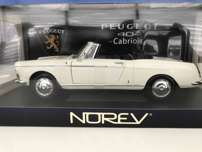 norev scale 1 18 peugeot 404 cabrio white catawiki. Black Bedroom Furniture Sets. Home Design Ideas