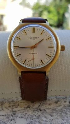 Longines - Admiral HF 18k Solid Gold 22+gr Cal 6922 - Men - 1960-1969