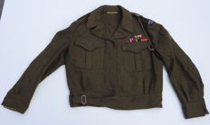 WW2 Royal Canadian Service Corps jacket