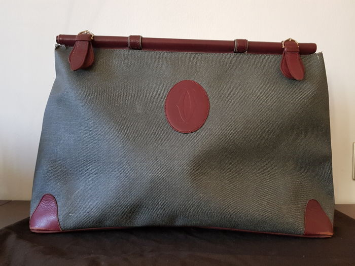 Cartier - large travel bag with handles