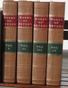 Rev. Joseph Warton, MA (notes) - The Poetical Works of John Dryden containing Original Poems, Tales and Translations - 1811