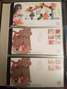 The Netherlands 2010/2012 - FDC's 3 complete years