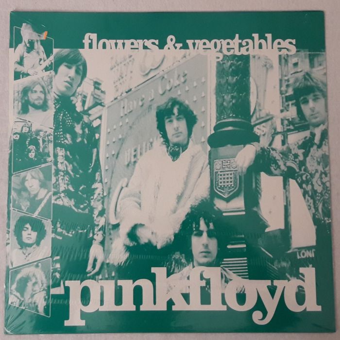 Pink Floyd - 3 Vinyl Album - Flowers & Vegetables, Saint-Tropez, Obscured By Clouds